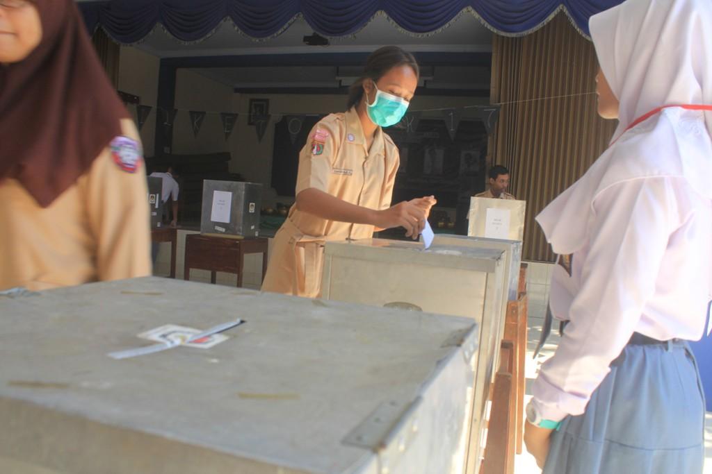 Belajar Demokrasi Pemilihan Ketua Osis Sman 1 Tegal Seperti